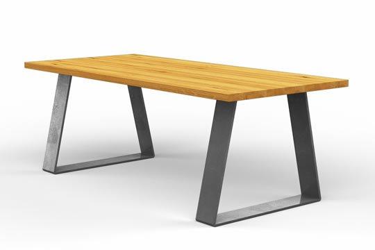 Holztische und Esstische im Industrial Design